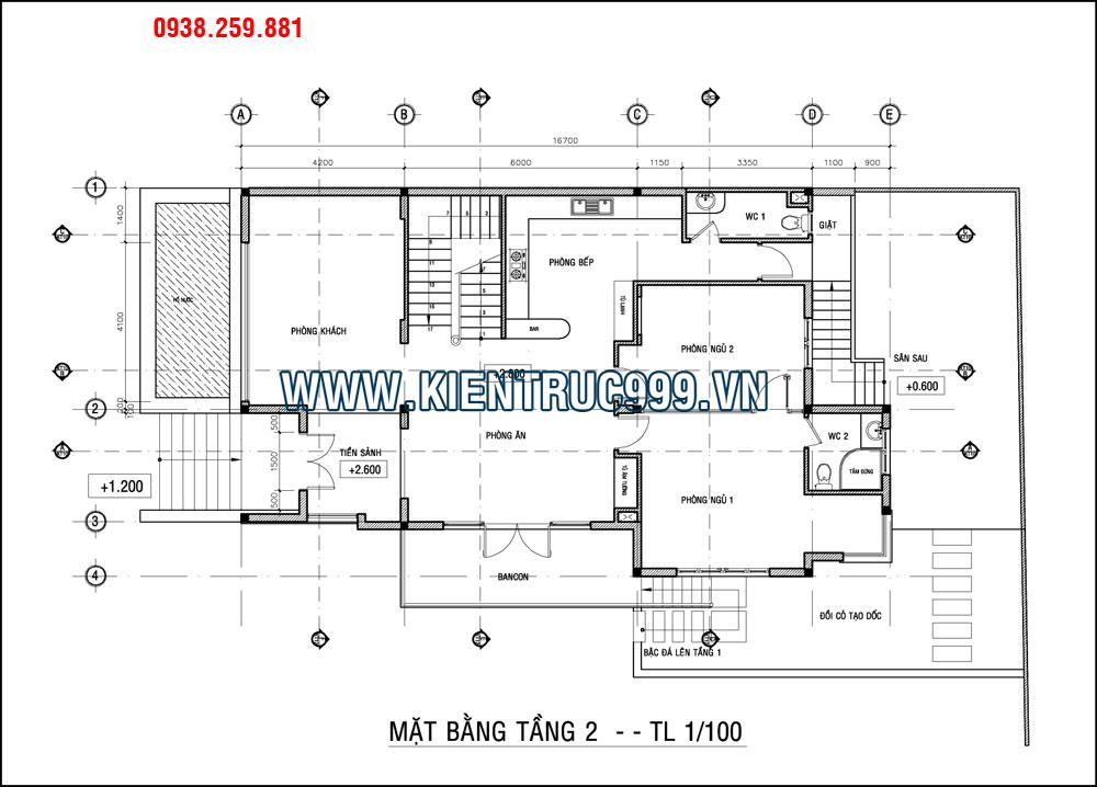 thiet ke biet thu dep, biệt thự 3 tầng đẹp, thiết kế biệt thự đẹp, kiến trúc biệt thự đẹp.
