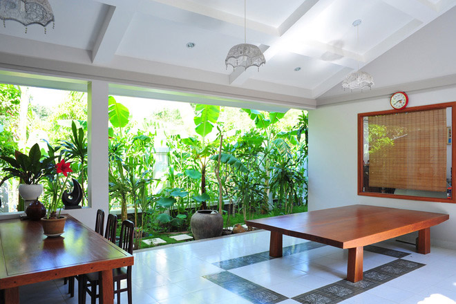 Thiết kế biệt thự sân vườn đẹp mang phong cách Nam Bộ.