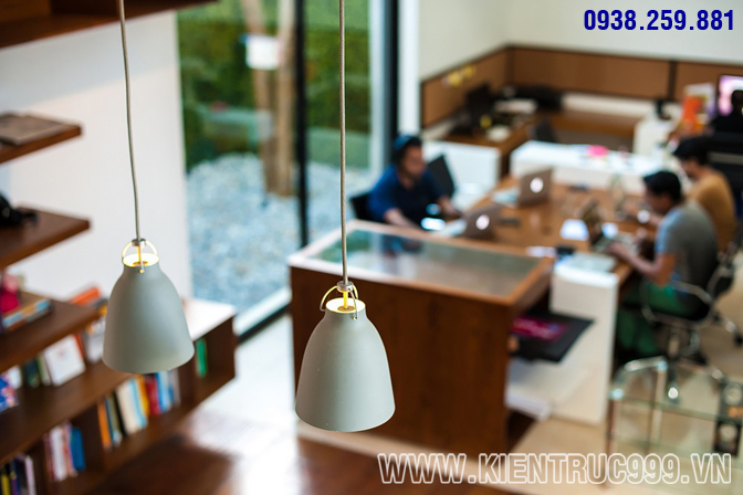 Thiết kế nội thất văn phòng xanh 3