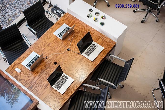 Thiết kế nội thất văn phòng xanh 8