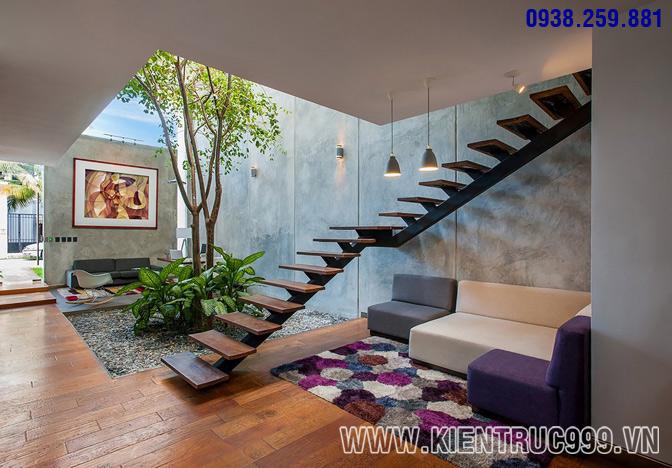 Thiết kế nội thất văn phòng xanh 10