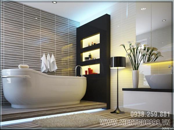 Mẫu phòng vệ sinh tuyệt đẹp ai cũng muốn sở hữu 3