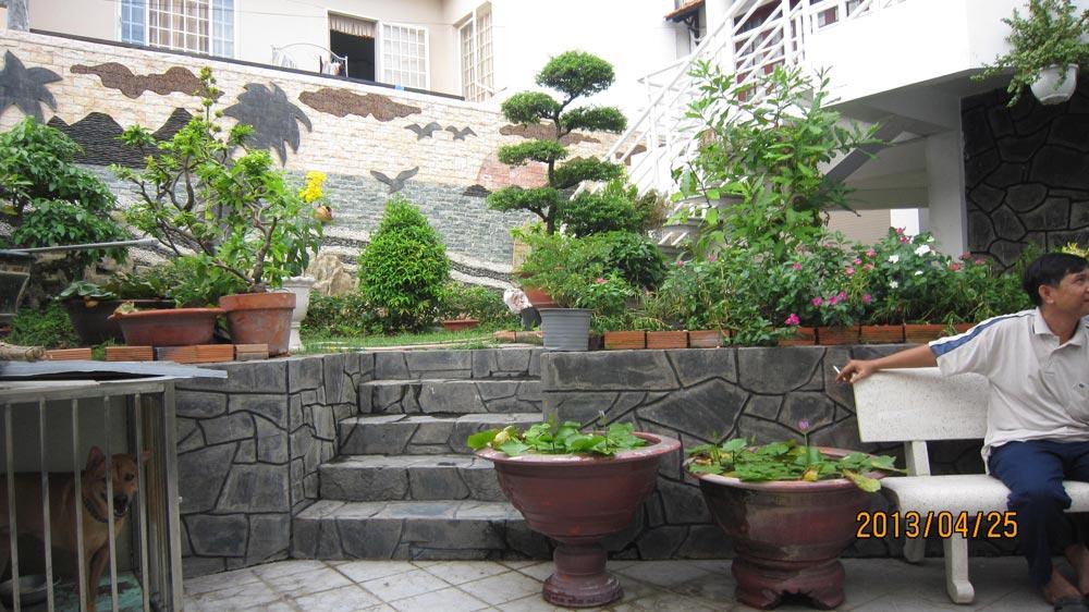 sân vườn biệt thự đep