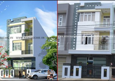 Hình ảnh thi công nhà anh Dũng - TP Buôn Ma Thuột - Đaklak