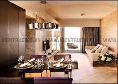 Thiết kế nhà chung cư nội thất đẹp