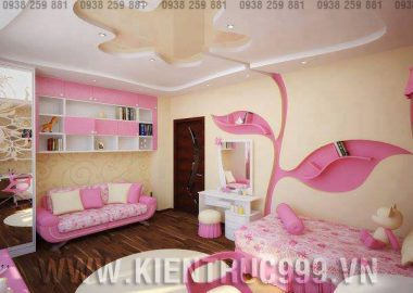 Bộ sưu tập phòng bé gái đẹp