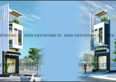 Thiết kế nội thất nhà phố lệch tầng anh Quốc -Buôn Mê- Đaklak