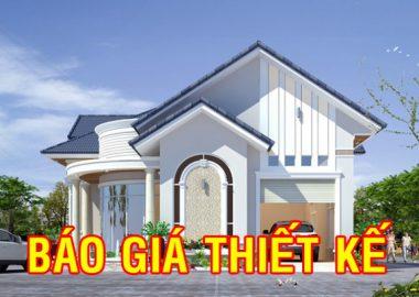 Báo giá thiết kế nhà ở