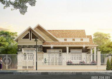 Thiết kế nhà đẹp 1 tầng đẹp-Long Khánh-Đồng Nai