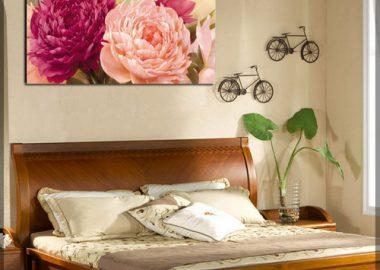 Cách treo tranh trong phòng ngủ hợp phong thủy