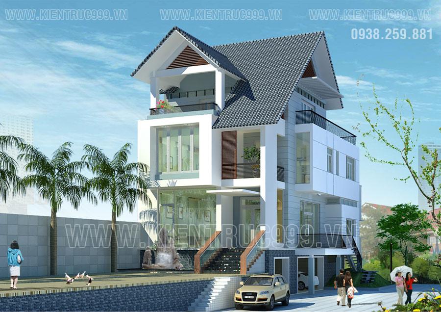 Thiết kế thi công nhà phố, biệt thự, nhà văn phòng tphcm - 7