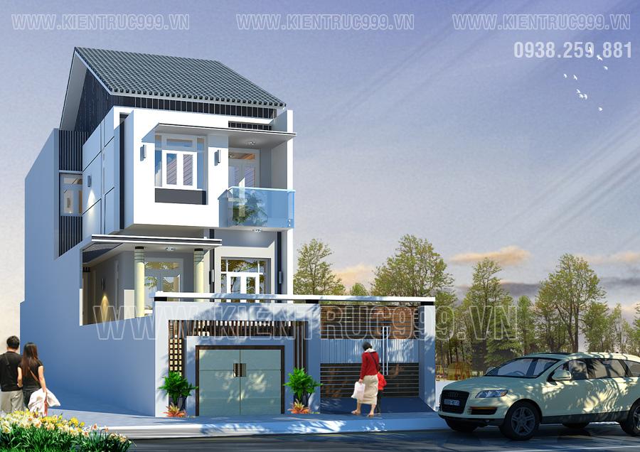 Thiết kế thi công nhà phố, biệt thự, nhà văn phòng tphcm - 25