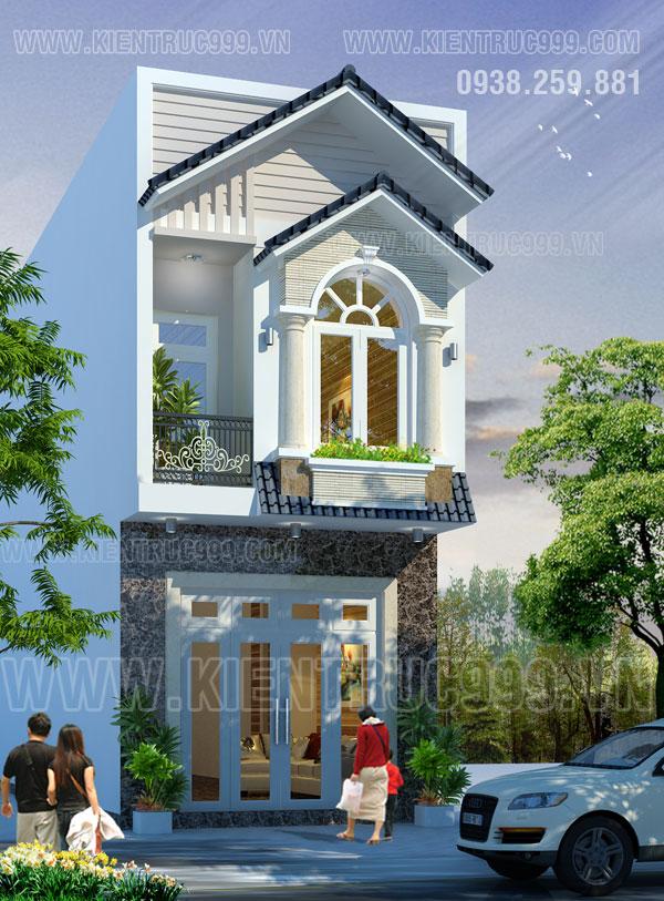 Thiết kế thi công nhà phố, biệt thự, nhà văn phòng tphcm - 44