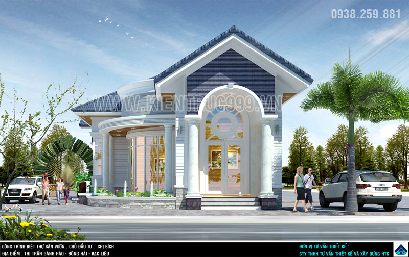 nhà đẹp 1 tầng ở gành hào bạc liêu 2016