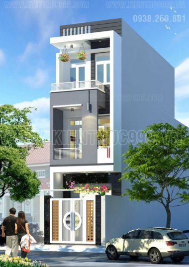 Nhà phố 3 tầng đẹp - ĐHT31- Q12-TPHCM