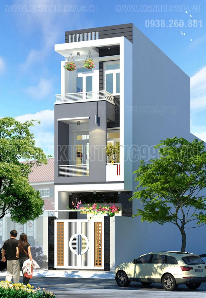 Thiết kế thi công nhà phố, biệt thự, nhà văn phòng tphcm - 20