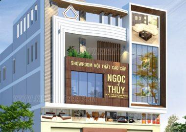 Nhà phố đẹp 4 tầng - Diêu Trì- Bình Định