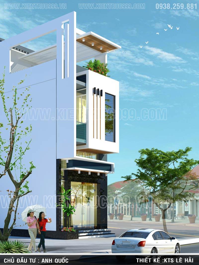 Thiết kế thi công nhà phố, biệt thự, nhà văn phòng tphcm - 10