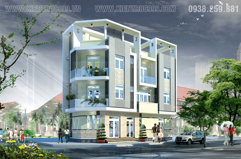 Nhà đẹp 2 mặt tiền 3 tầng khu dân cư trên đường Tân Kỳ Tân Quý - Tân Phú - TP.HCM
