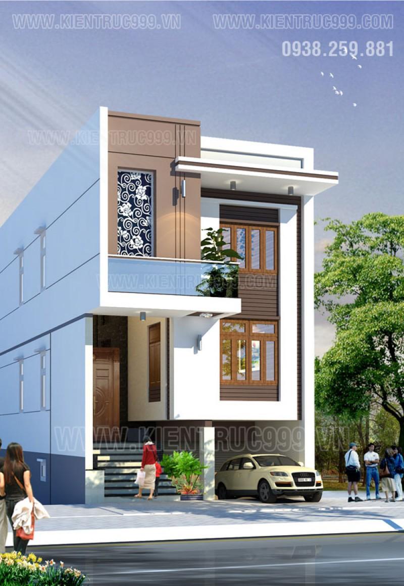 Thiết kế thi công nhà phố, biệt thự, nhà văn phòng tphcm - 17