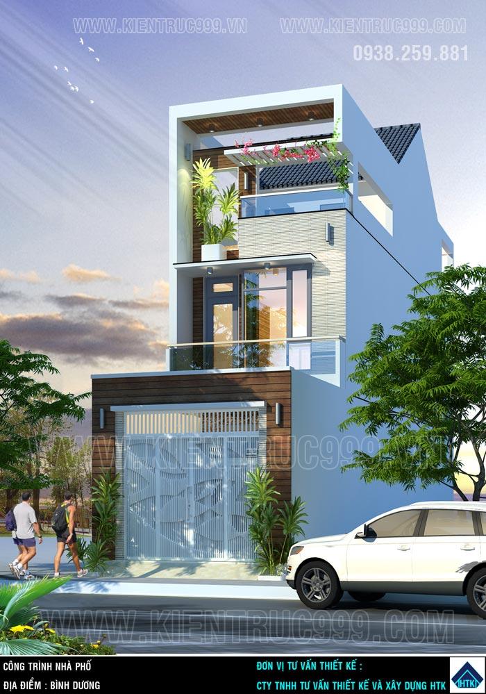 Thiết kế thi công nhà phố, biệt thự, nhà văn phòng tphcm - 29