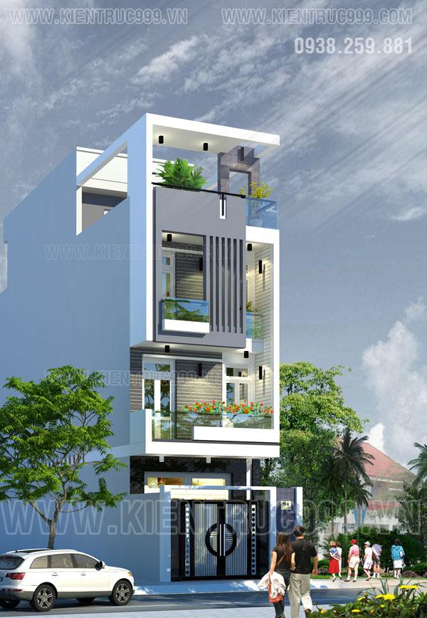 Thiết kế thi công nhà phố, biệt thự, nhà văn phòng tphcm - 22