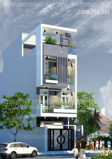 Nhà phố 3 tầng diện tích 4m5 x 17m5  khu Nam Long -Q9- TP.HCM