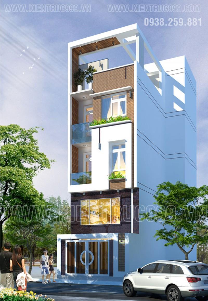 Thiết kế thi công nhà phố, biệt thự, nhà văn phòng tphcm - 30