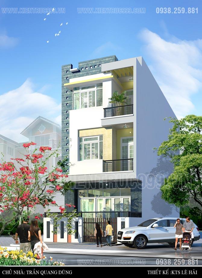 Thiết kế thi công nhà phố, biệt thự, nhà văn phòng tphcm - 19