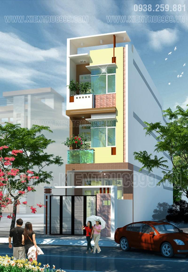 Thiết kế thi công nhà phố, biệt thự, nhà văn phòng tphcm - 40