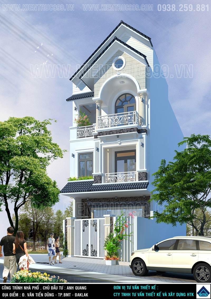 Thiết kế thi công nhà phố, biệt thự, nhà văn phòng tphcm - 13