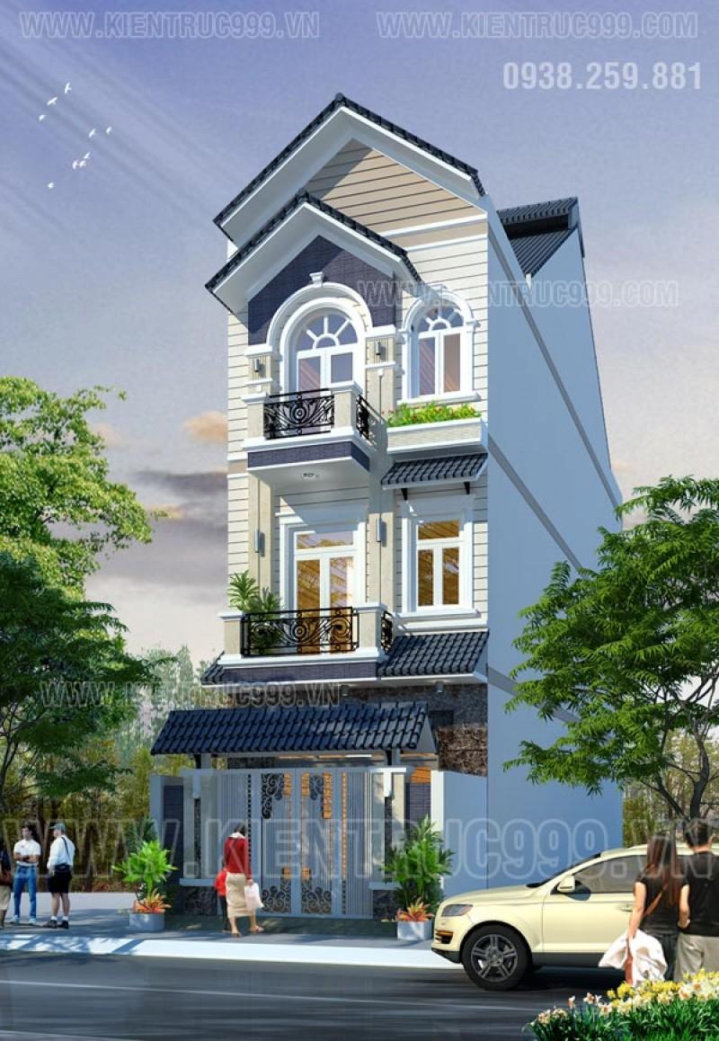 Thiết kế thi công nhà phố, biệt thự, nhà văn phòng tphcm - 14