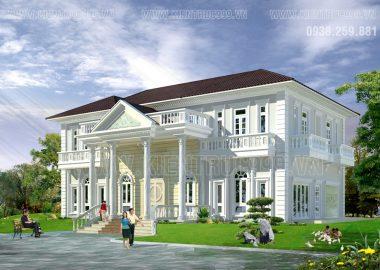 Biệt thự cổ điển đẹp-Thiết kế biệt thự đẹp-Trảng Bom- Đồng Nai