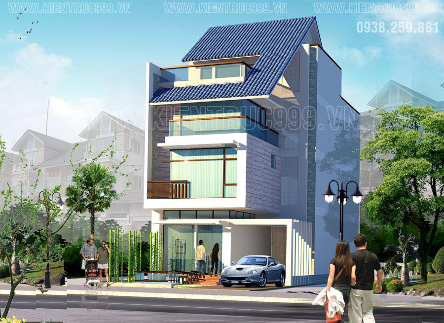 Thiết kế thi công nhà phố, biệt thự, nhà văn phòng tphcm - 37