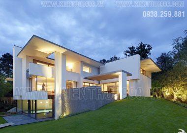 Biệt thự hiện đại đẹp như mơ nơi tình yêu thăng hoa.