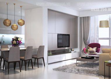 Nội thất căn hộ đẹp đẳng cấp nhất gò vấp