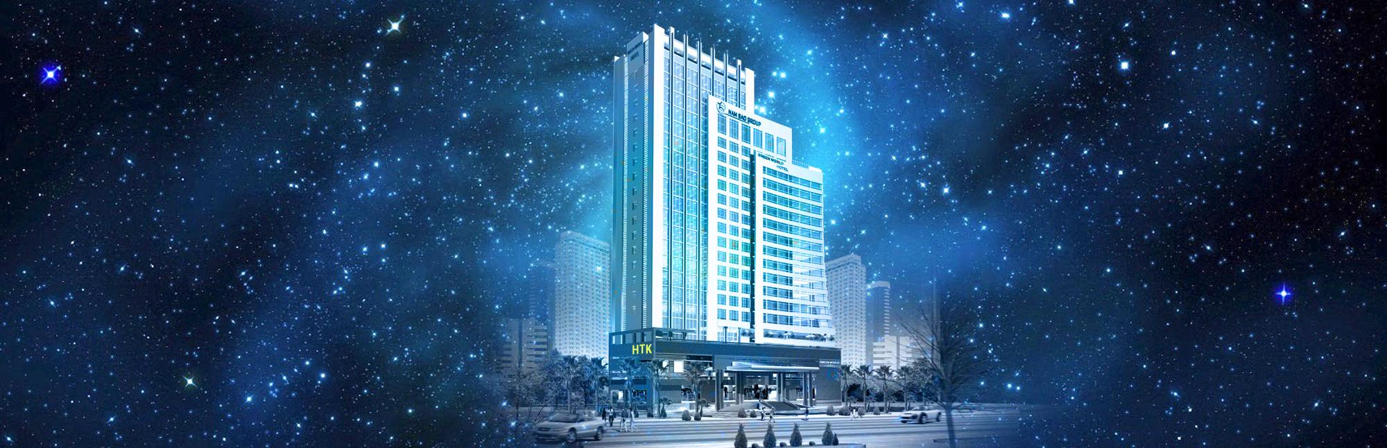 Thiết kế khách sạn HTK đẹp