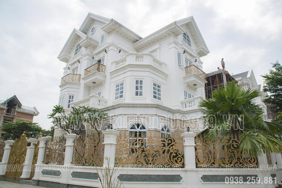 Biệt thự tân cổ điển đẹp Sài Gòn