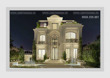 Thiết kế biệt thự tân cổ điển phong cách sang trọng bậc nhất Đaklak không thể quên.