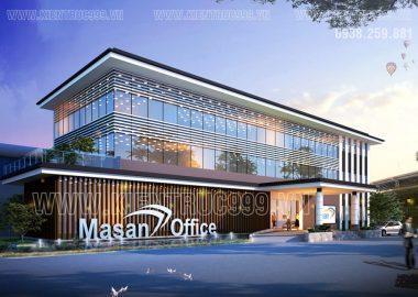 Thiết kế nhà văn phòng , nhà điều hành các khu công nghiệp.