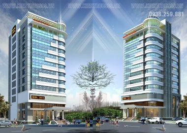 Thiết kế khách sạn Hoàng Vũ Biển Hồ Gia Lai