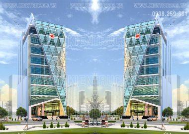 Thiết kế tòa nhà văn phòng 9 tầng Thanh Nga tại TP.HCM