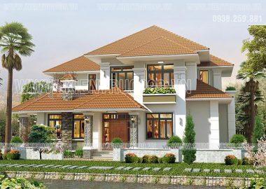 Thiết kế nhà đẹp Đồng Xoài - Bình Phước 2017
