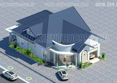 Phong thủy mái nhà