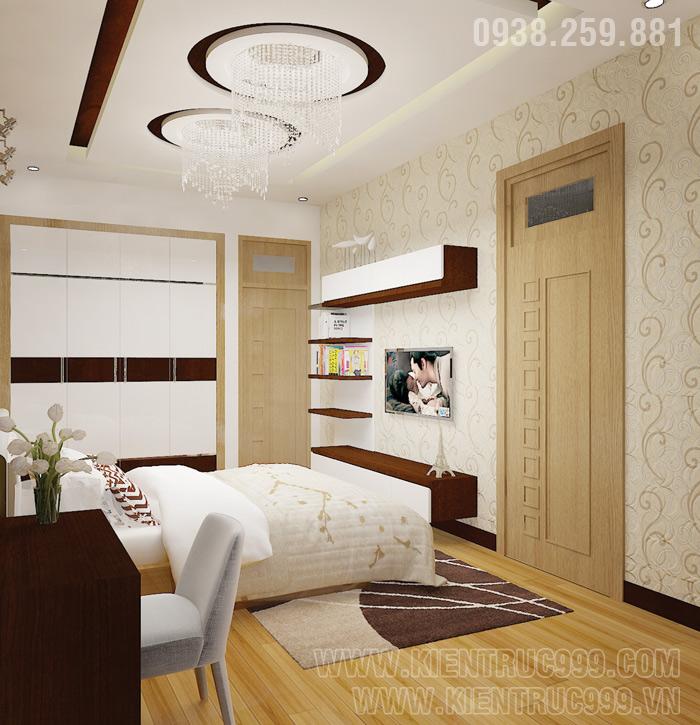 Biệt thự 1 tầng đẹp- nội thất phòng ngủ đẹp 4