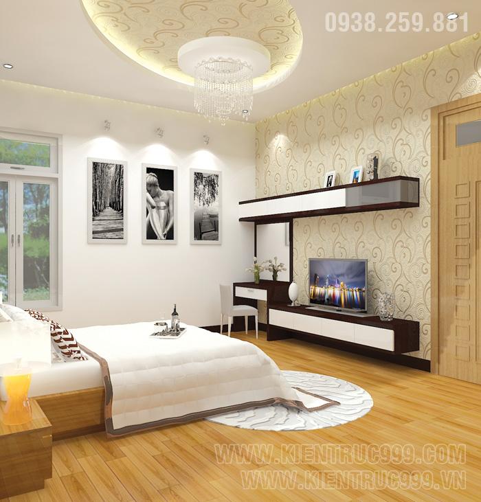 Biệt thự 1 tầng đẹp- nội thất phòng ngủ đẹp 3