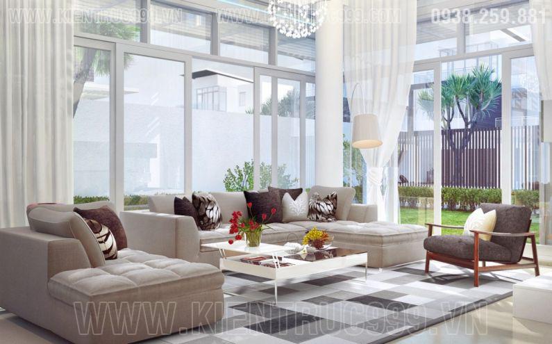 Thiết kế nội thất nhà đẹp Sài gòn 2018 phong cách cá tính 5