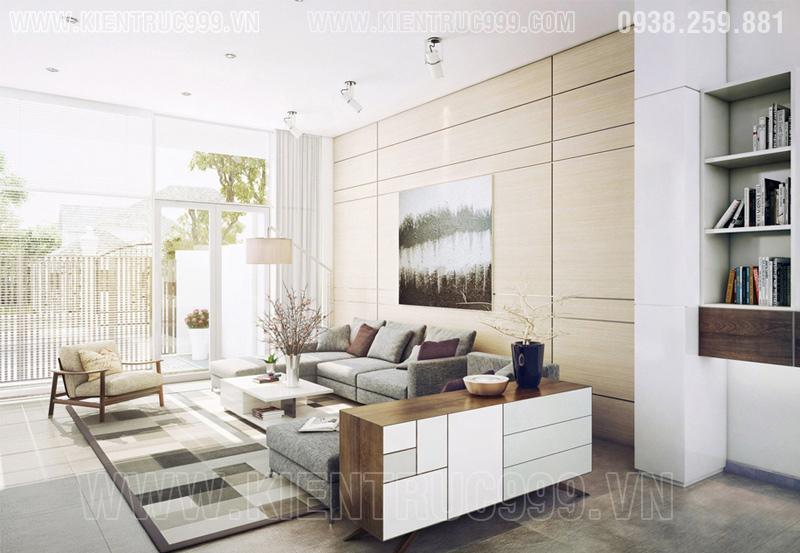 Thiết kế nội thất nhà đẹp Sài gòn 2018 phong cách cá tính 6