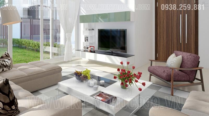 Thiết kế nội thất nhà đẹp Sài gòn 2018 phong cách cá tính 4
