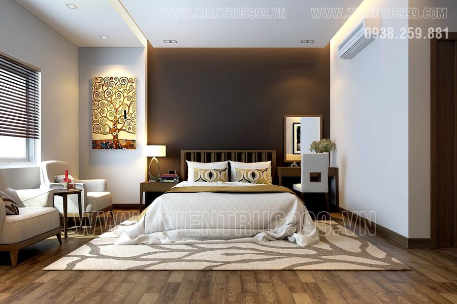 Nhà cấp 4 mái thái thiết kế nội thất đẹp nhất 2017 một thiết kế của HTK
